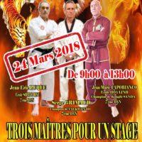 Stage des 3 Maîtres...